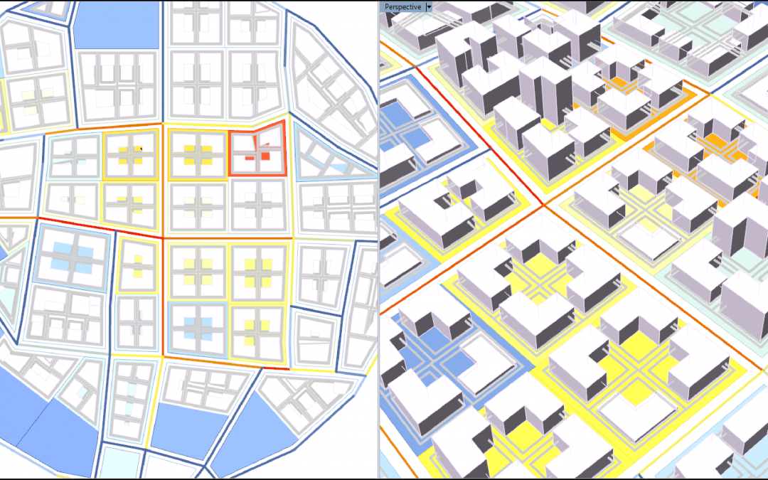 Dynamic Urban Development Model